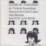 Esthetic Paradise - Cárol López (2004) - Front