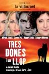 Tres dones i un llop - Cárol López (2009) - Front